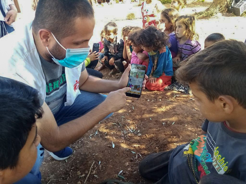Msf Challenges Covid 19 Myths With New Quiz Challenge App Medecins Sans Frontieres Middle East